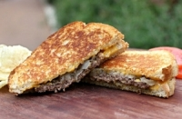 CUISINE'S BEST GRILLED CHEESE TRUCK - Patty Melt
