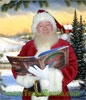 Santa Reading Christmas Stories
